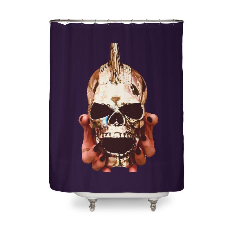 SID of Black Sabbatha Home Shower Curtain by Black Sabbatha Soul Swag Swap