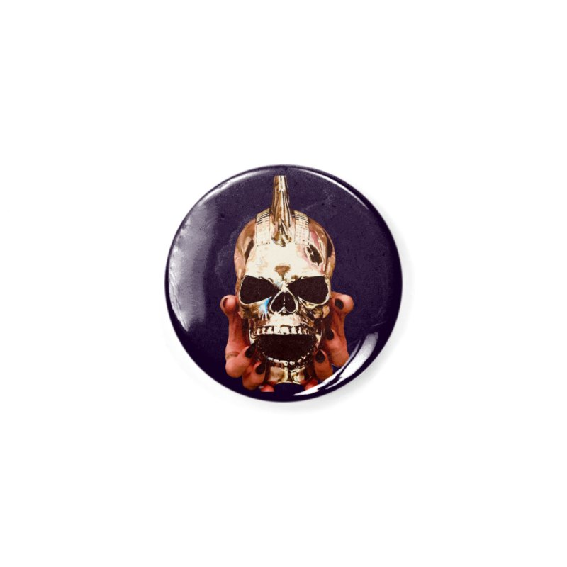 SID of Black Sabbatha Accessories Button by Black Sabbatha Soul No FEAR