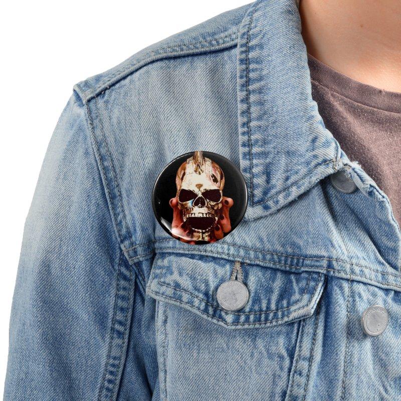 Black Sabbatha Soul Swag Wear Accessories Button by Black Sabbatha Soul No FEAR