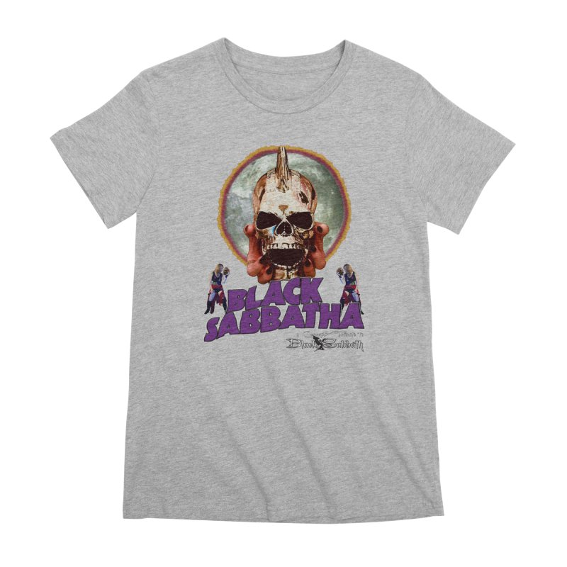 Black Sabbatha Soul Swag Wear Women's Premium T-Shirt by Black Sabbatha Soul Swag Swap
