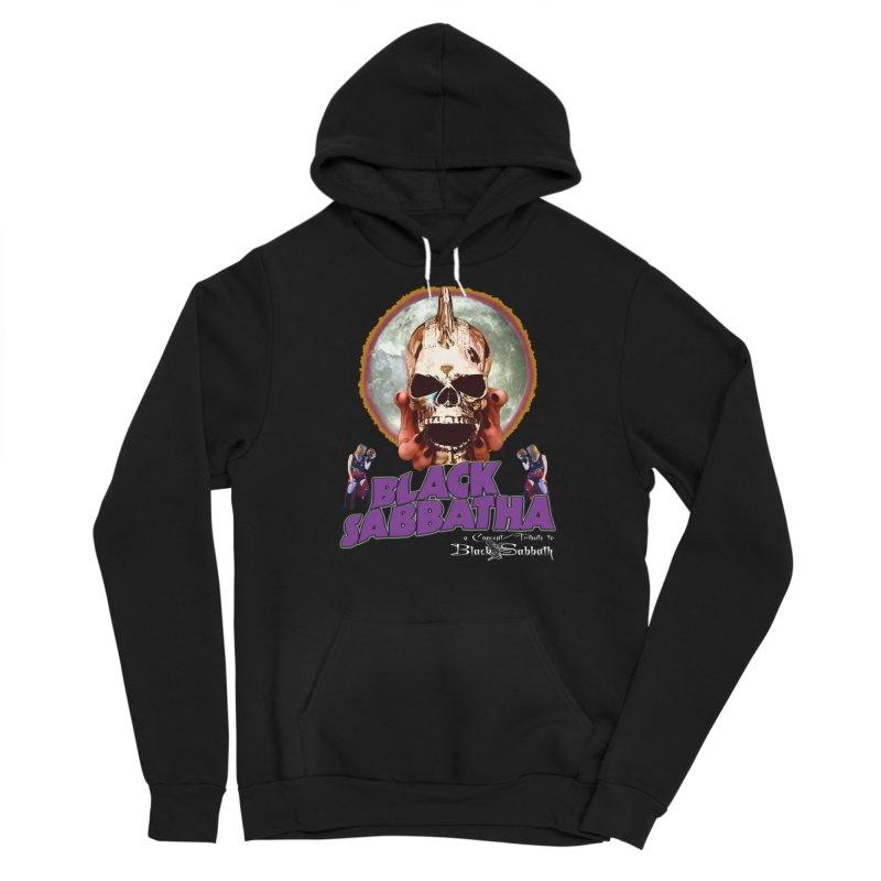 Black Sabbatha Soul Swag Wear Men's Sponge Fleece Pullover Hoody by Black Sabbatha Soul Swag Swap