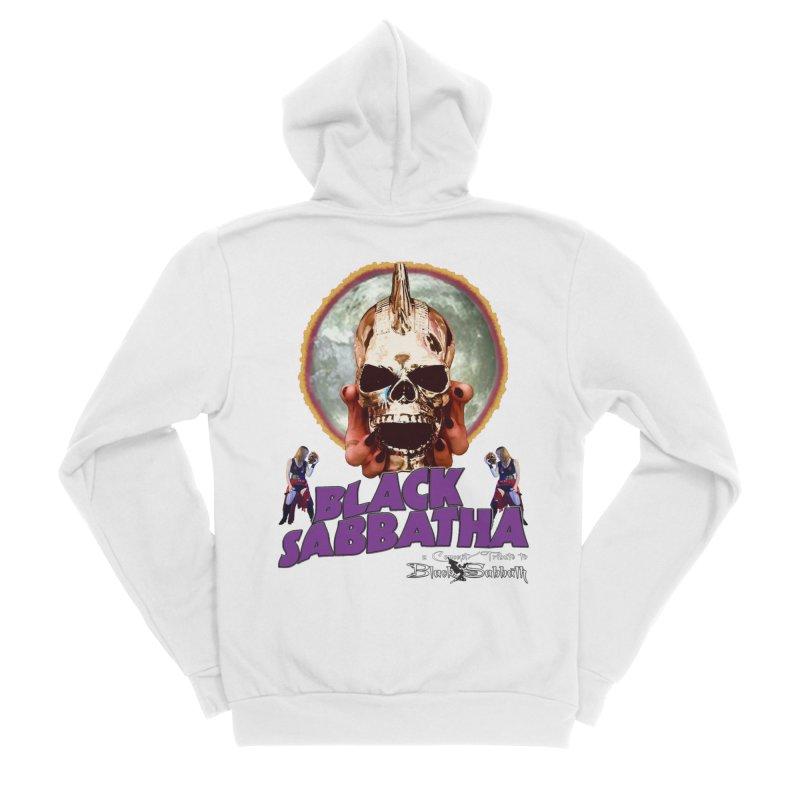 Black Sabbatha Soul Swag Wear Men's Sponge Fleece Zip-Up Hoody by Black Sabbatha Soul Swag Swap