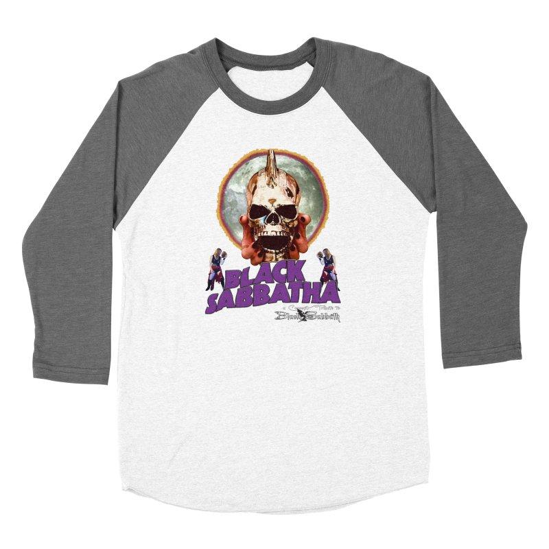 Black Sabbatha Soul Swag Wear Women's Baseball Triblend Longsleeve T-Shirt by Black Sabbatha Soul Swag Swap