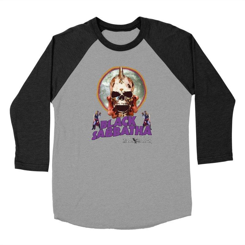Black Sabbatha Soul Swag Wear Men's Baseball Triblend Longsleeve T-Shirt by Black Sabbatha Soul Swag Swap