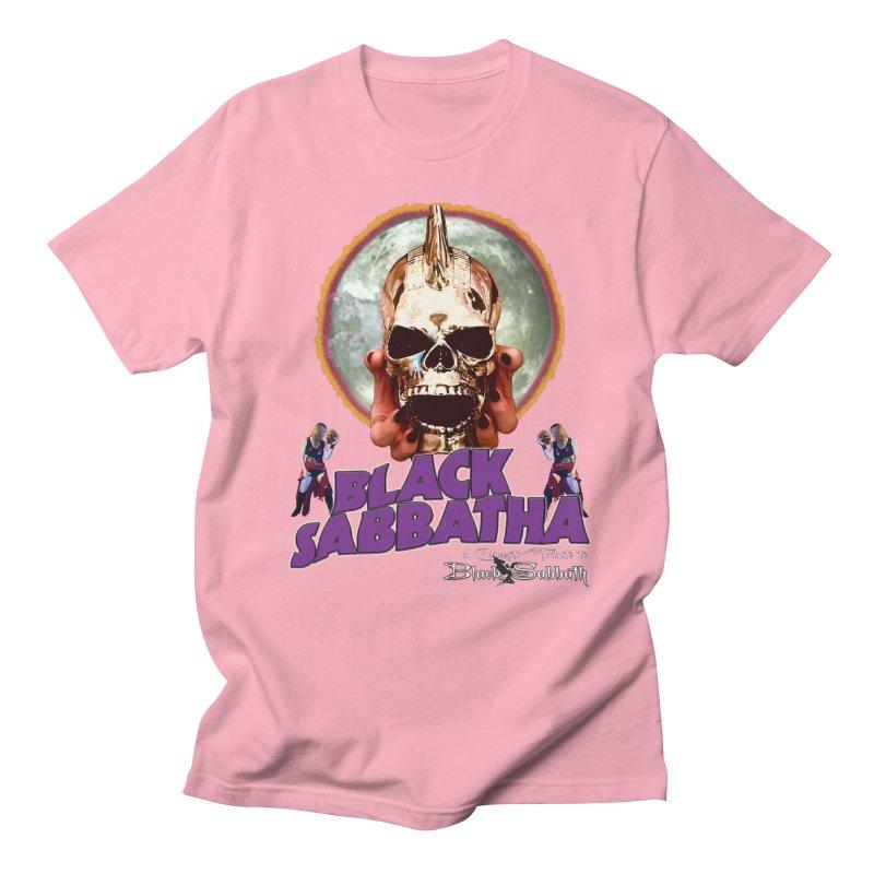 Black Sabbatha Soul Swag Wear Men's Regular T-Shirt by Black Sabbatha Soul Swag Swap