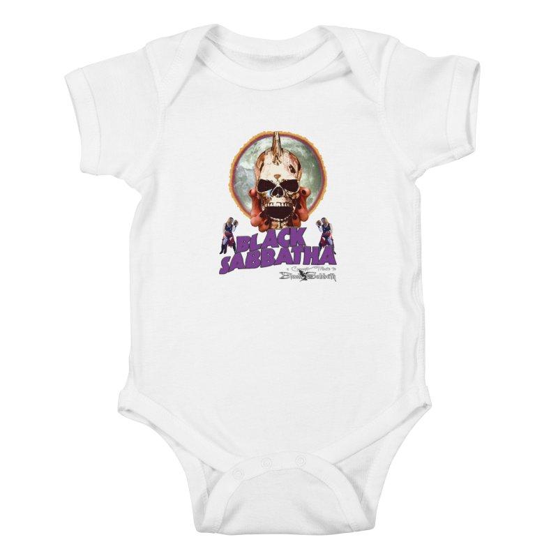 Black Sabbatha Soul Swag Wear Kids Baby Bodysuit by Black Sabbatha Soul Swag Swap
