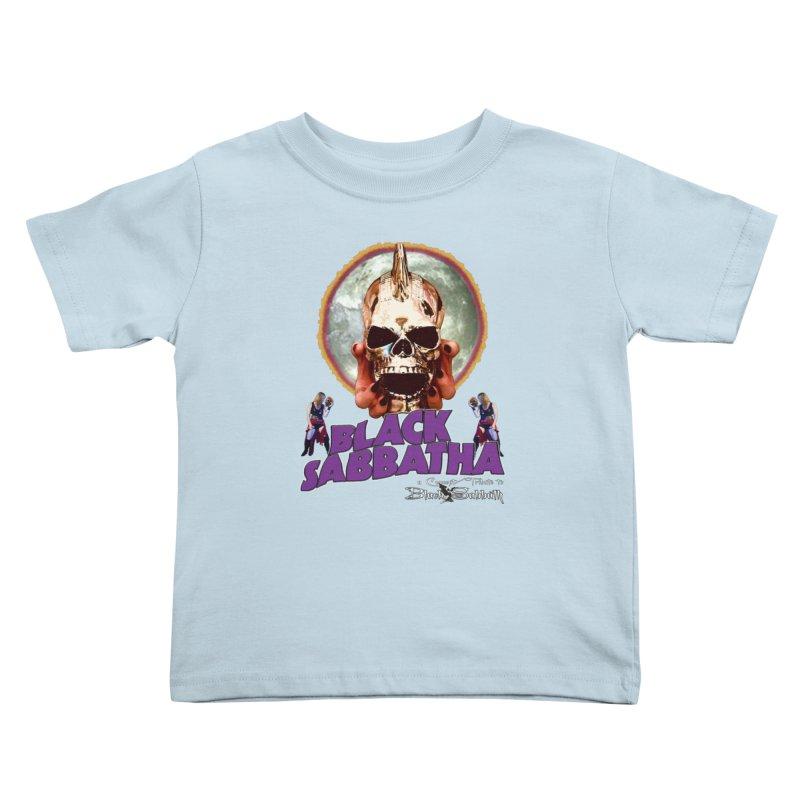 Black Sabbatha Soul Swag Wear Kids Toddler T-Shirt by Black Sabbatha Soul Swag Swap