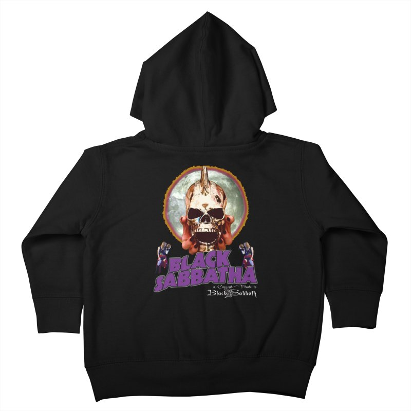 Black Sabbatha Soul Swag Wear Kids Toddler Zip-Up Hoody by Black Sabbatha Soul Swag Swap