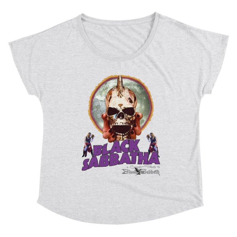 Black Sabbatha Soul Swag Wear Women's Dolman Scoop Neck by Black Sabbatha Soul Swag Swap