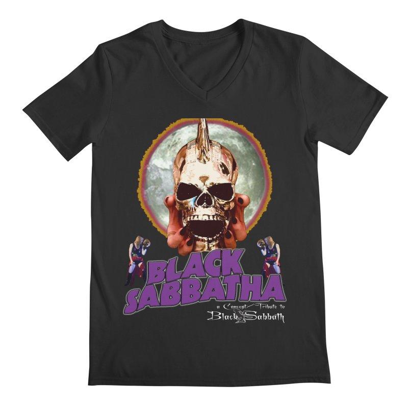 Black Sabbatha Soul Swag Wear Men's V-Neck by Black Sabbatha Soul No FEAR