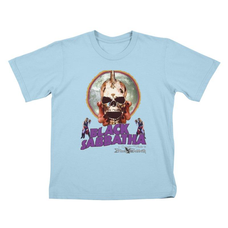 Black Sabbatha Soul Swag Wear Kids T-Shirt by Black Sabbatha Soul No FEAR