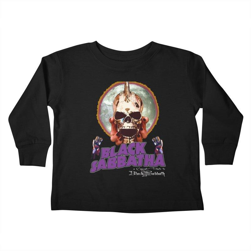 Black Sabbatha Soul Swag Wear Kids Toddler Longsleeve T-Shirt by Black Sabbatha Soul No FEAR