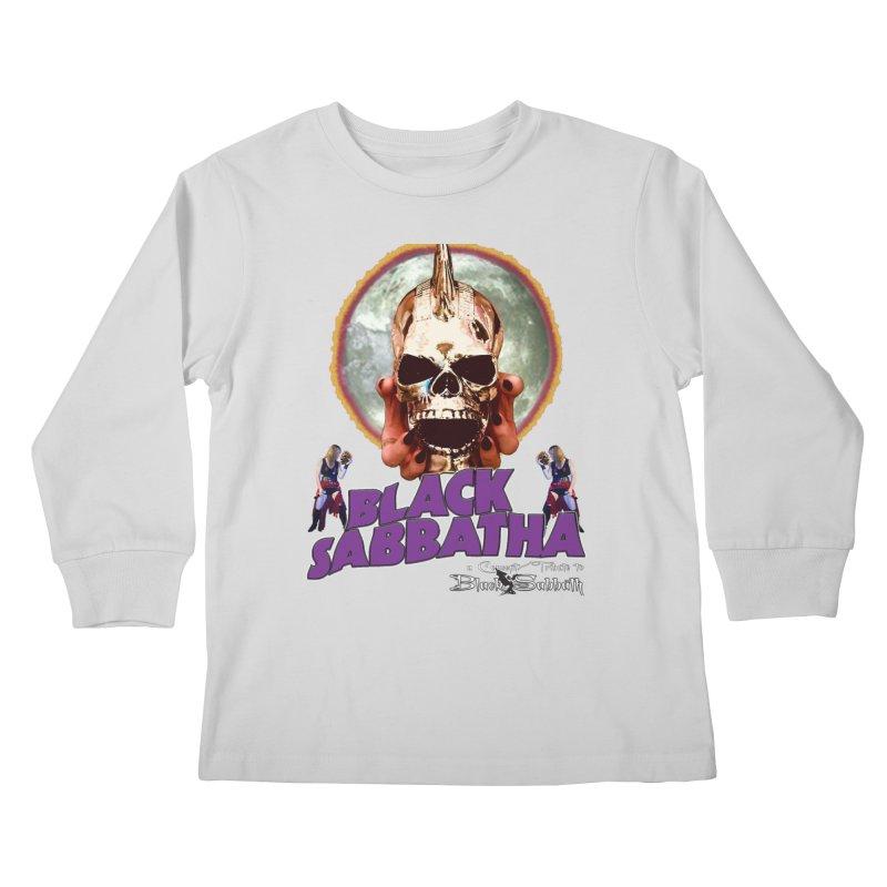 Black Sabbatha Soul Swag Wear Kids Longsleeve T-Shirt by Black Sabbatha Soul No FEAR