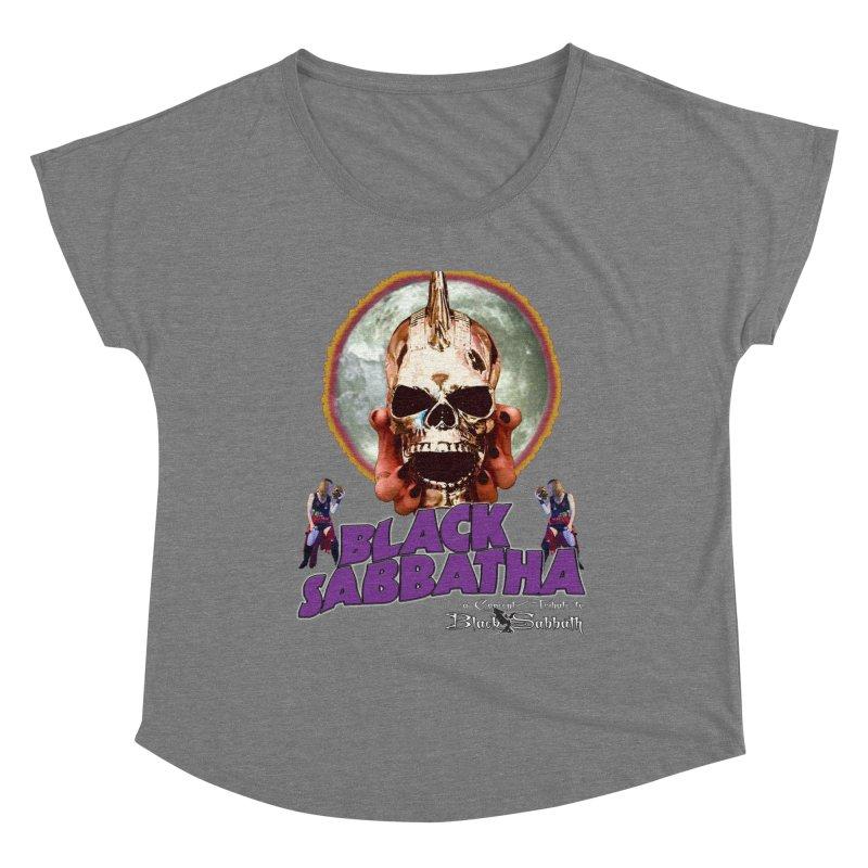 Black Sabbatha Soul Swag Wear Women's Scoop Neck by Black Sabbatha Soul No FEAR