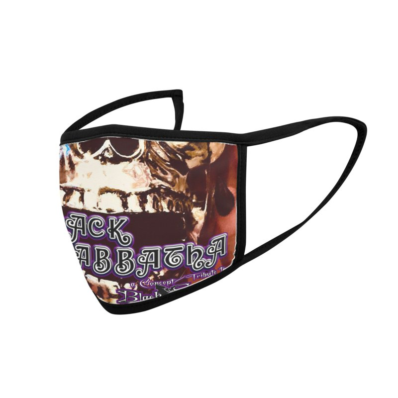 Black Sabbatha Threadless Mask Accessories Face Mask by Black Sabbatha Soul Swag Swap
