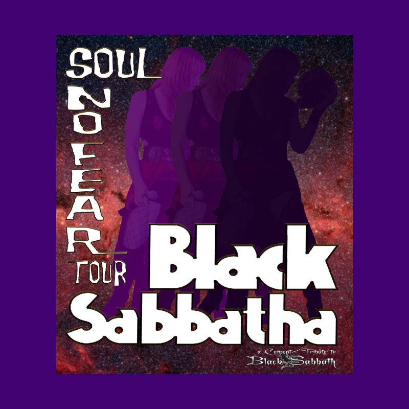 Black Sabbatha Soul No FEAR Home Tapestry by Black Sabbatha Soul No FEAR