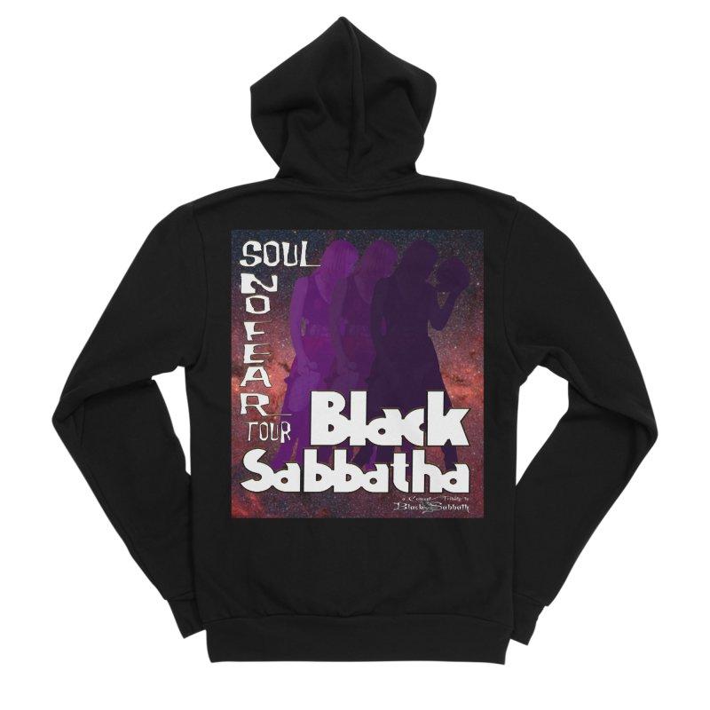 Black Sabbatha Soul No FEAR Women's Zip-Up Hoody by Black Sabbatha Soul No FEAR