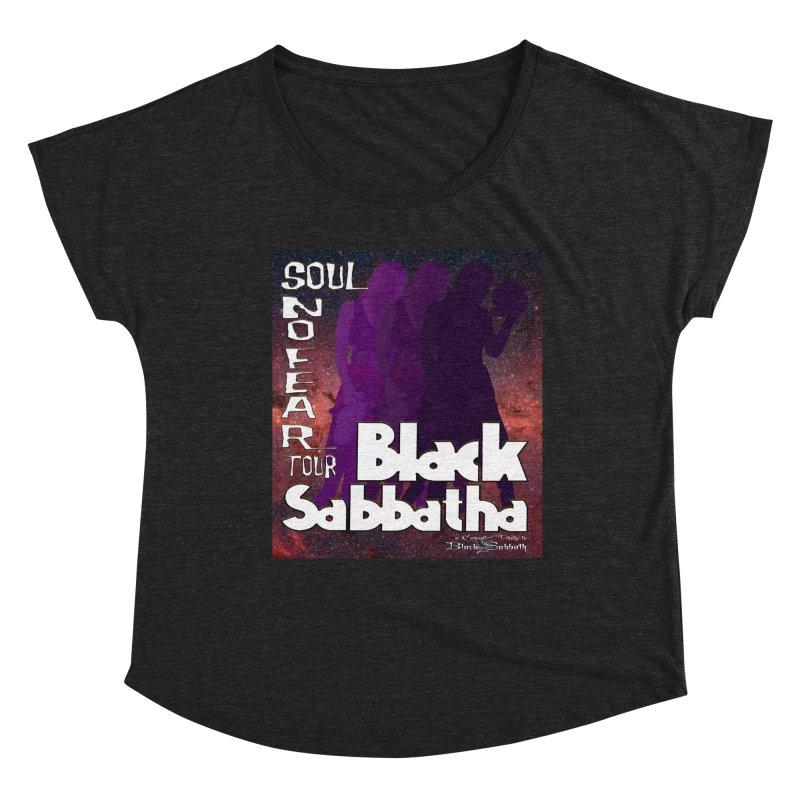 Black Sabbatha Soul No FEAR Women's Scoop Neck by Black Sabbatha Soul No FEAR