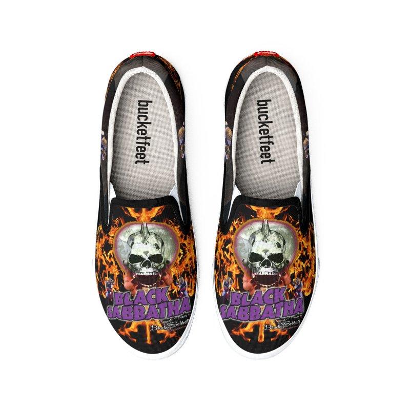 Black Sabbatha Soul No FEAR Women's Shoes by Black Sabbatha Soul No FEAR