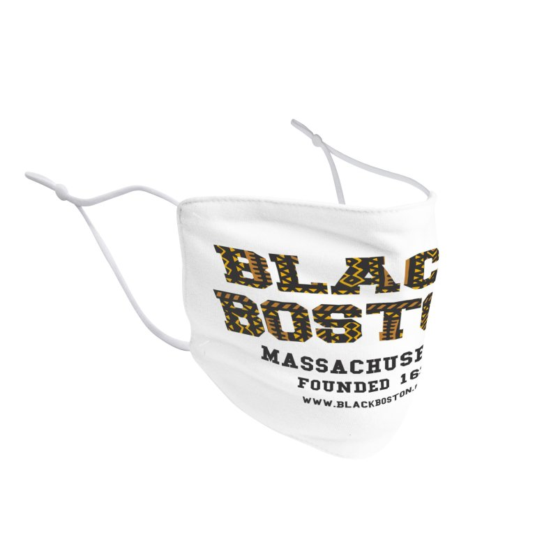 Black Boston Classic 1638 Foundation T-Shirts Accessories Face Mask by Boston Black Heritage Classic  souvenir t-shirts a