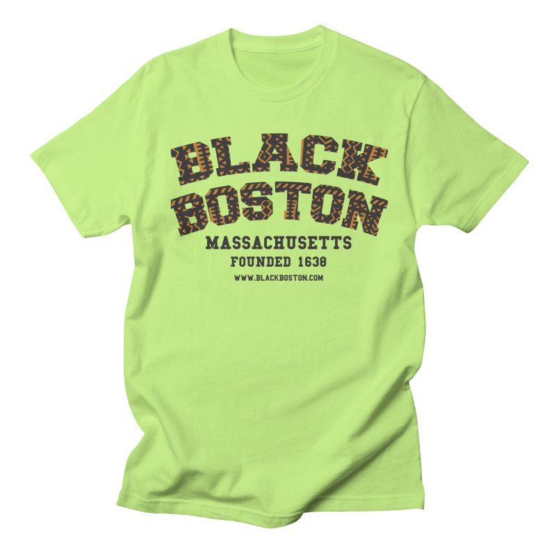 The Black Boston Classic foundational shirt catalog. Men's T-Shirt by Shop.BlackBoston.com