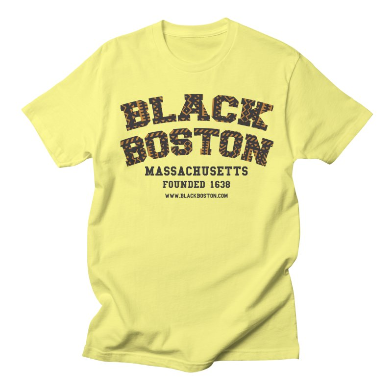 The Black Boston Classic foundational shirt catalog. in Men's Regular T-Shirt Lemon by Shop.BlackBoston.com