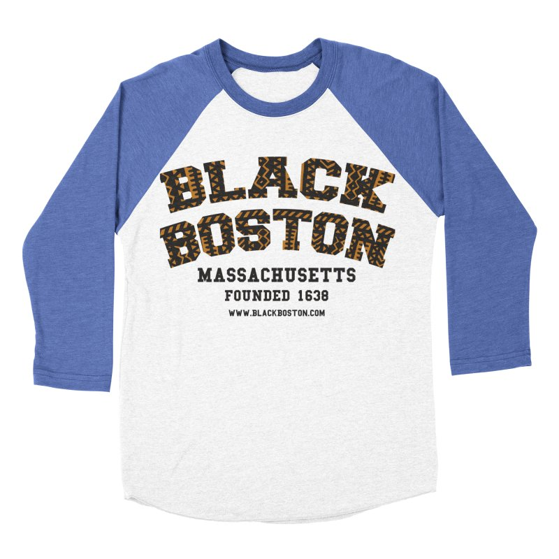 The Black Boston Classic foundational shirt catalog. Women's Baseball Triblend Longsleeve T-Shirt by Shop.BlackBoston.com
