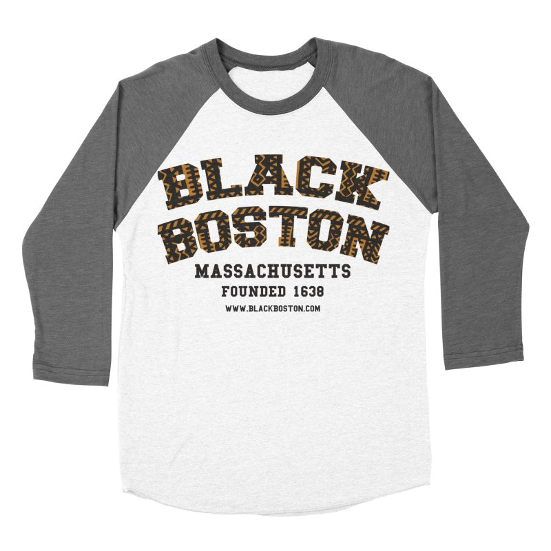 The Black Boston Classic foundational shirt catalog. Women's Baseball Triblend T-Shirt by Shop.BlackBoston.com