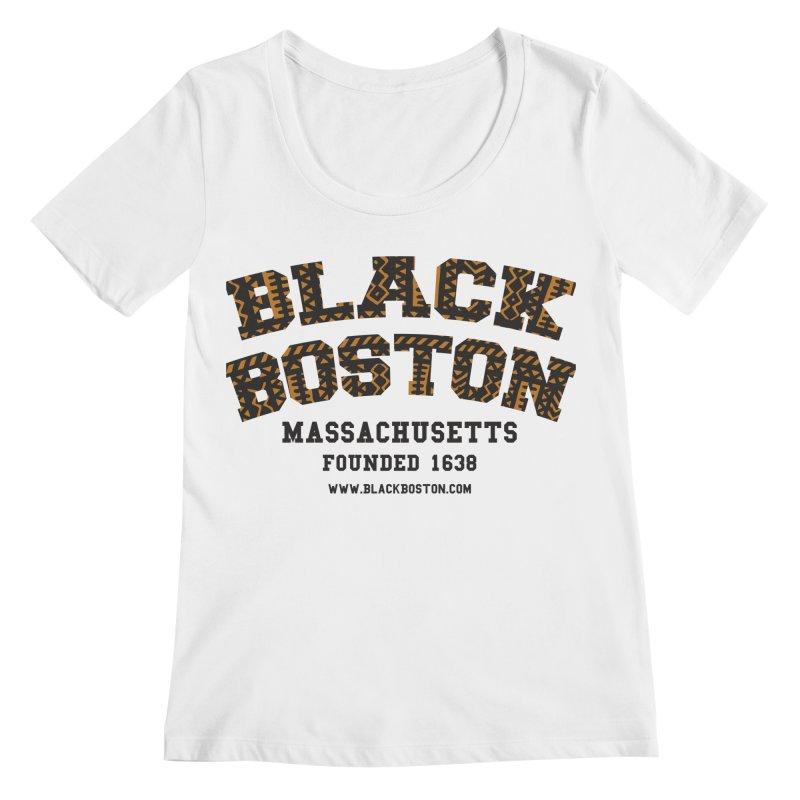 The Black Boston Classic foundational shirt catalog. Women's Regular Scoop Neck by Shop.BlackBoston.com