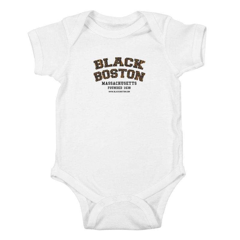 The Black Boston Classic foundational shirt catalog. Kids Baby Bodysuit by Shop.BlackBoston.com