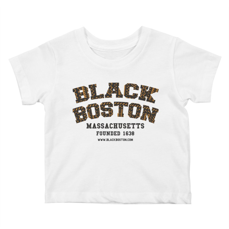 The Black Boston Classic foundational shirt catalog. Kids Baby T-Shirt by Shop.BlackBoston.com