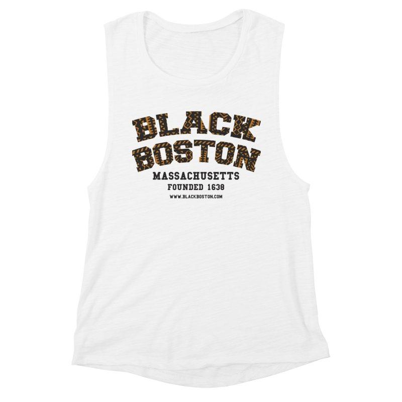 The Black Boston Classic foundational shirt catalog. Women's Muscle Tank by Shop.BlackBoston.com
