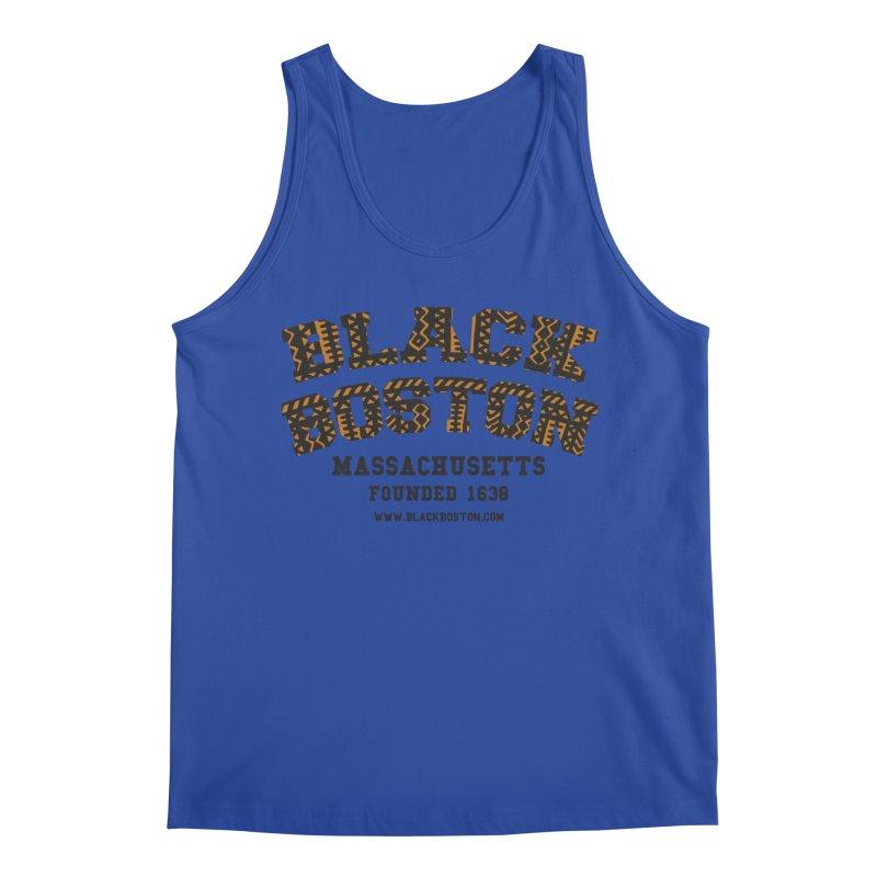 Black Boston Classic 1638 Foundation T-Shirts Men's Tank by Boston Black Heritage Classic  souvenir t-shirts a