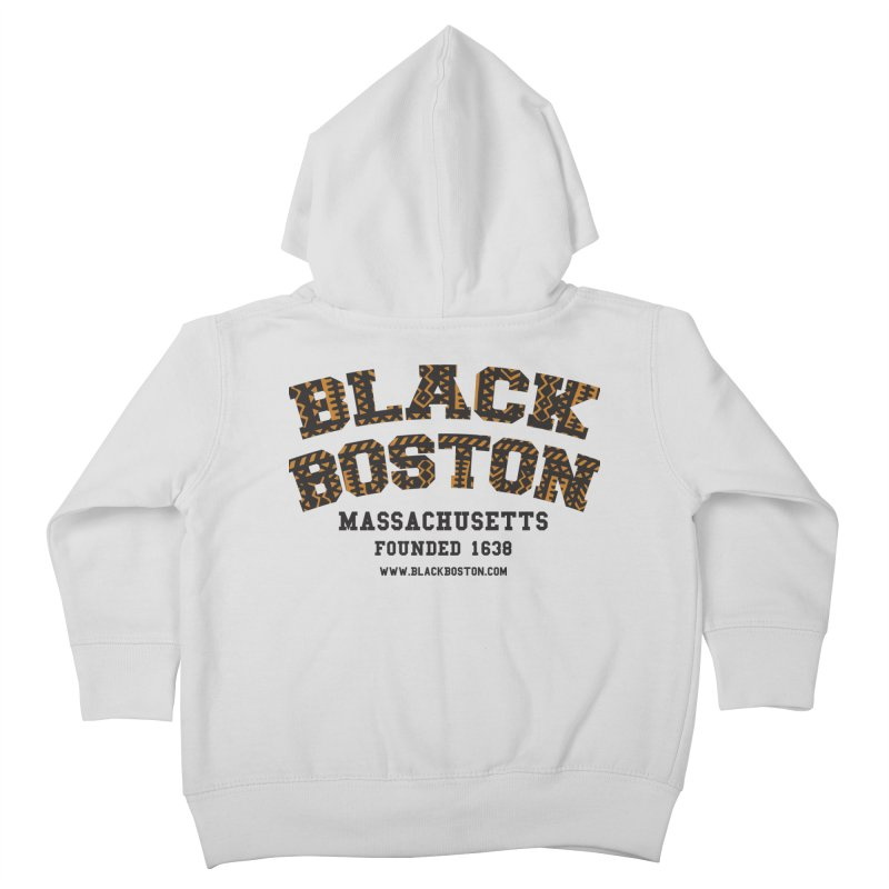 The Black Boston Classic foundational shirt catalog. Kids Toddler Zip-Up Hoody by Shop.BlackBoston.com