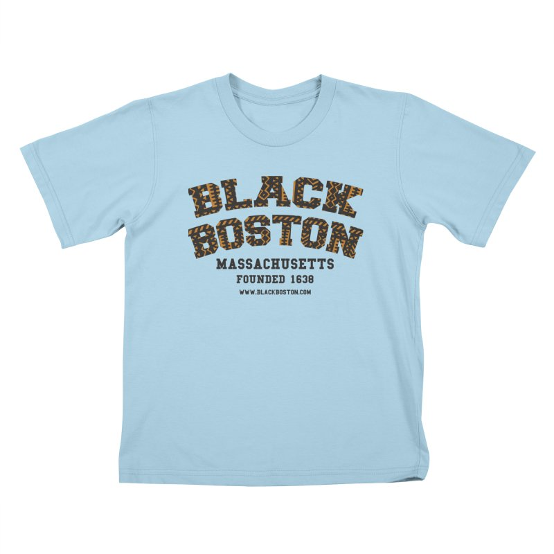 The Black Boston Classic foundational shirt catalog. Kids T-Shirt by Shop.BlackBoston.com