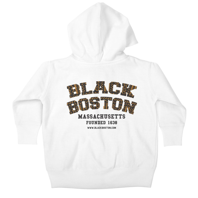 The Black Boston Classic foundational shirt catalog. Kids Baby Zip-Up Hoody by Shop.BlackBoston.com