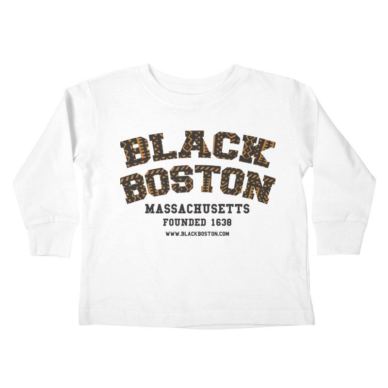 Kids None by Boston Black Heritage Classic  souvenir t-shirts a