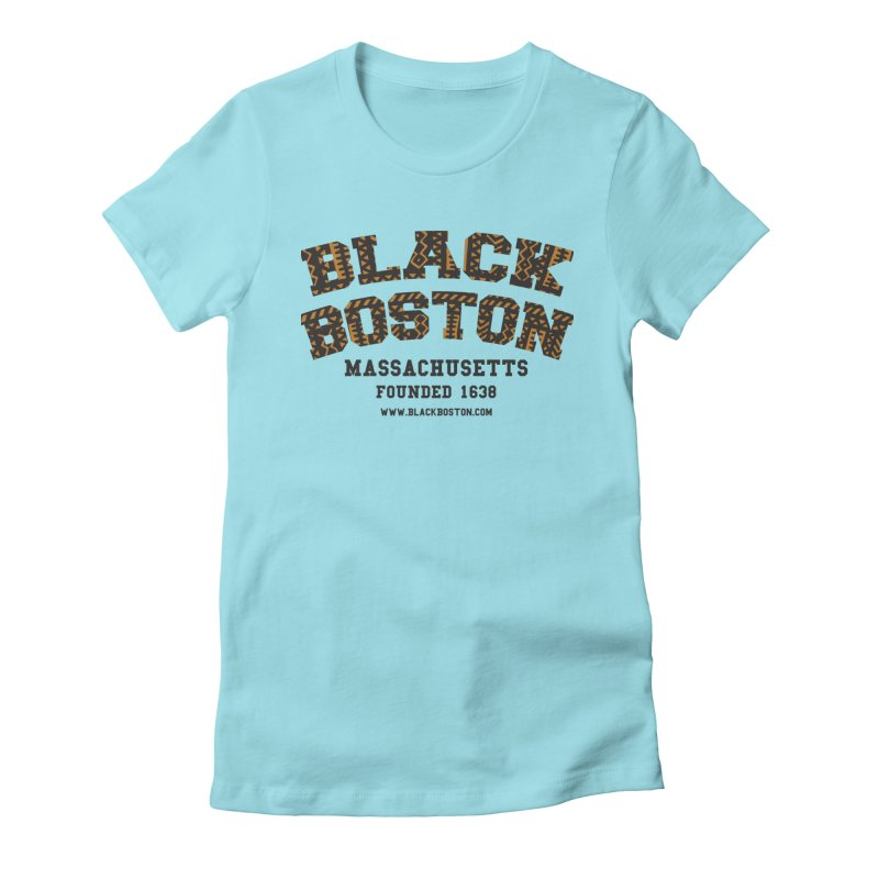 The Black Boston Classic foundational shirt catalog. in Women's Fitted T-Shirt Cancun by Shop.BlackBoston.com