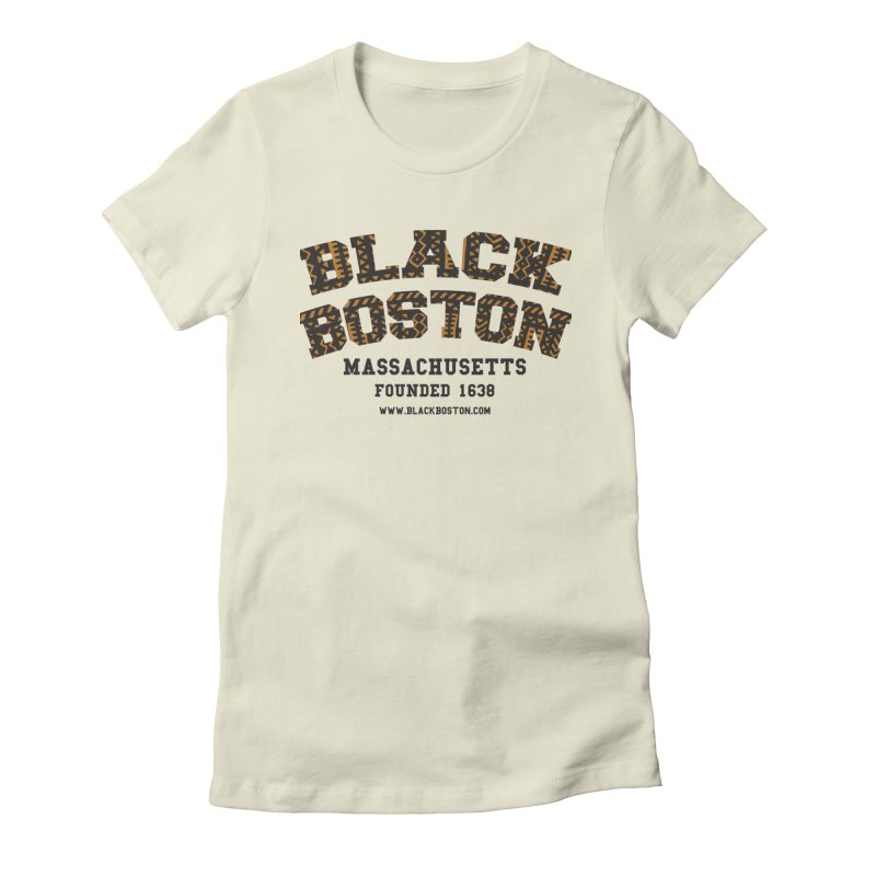 The Black Boston Classic foundational shirt catalog. in Women's Fitted T-Shirt Natural by Shop.BlackBoston.com