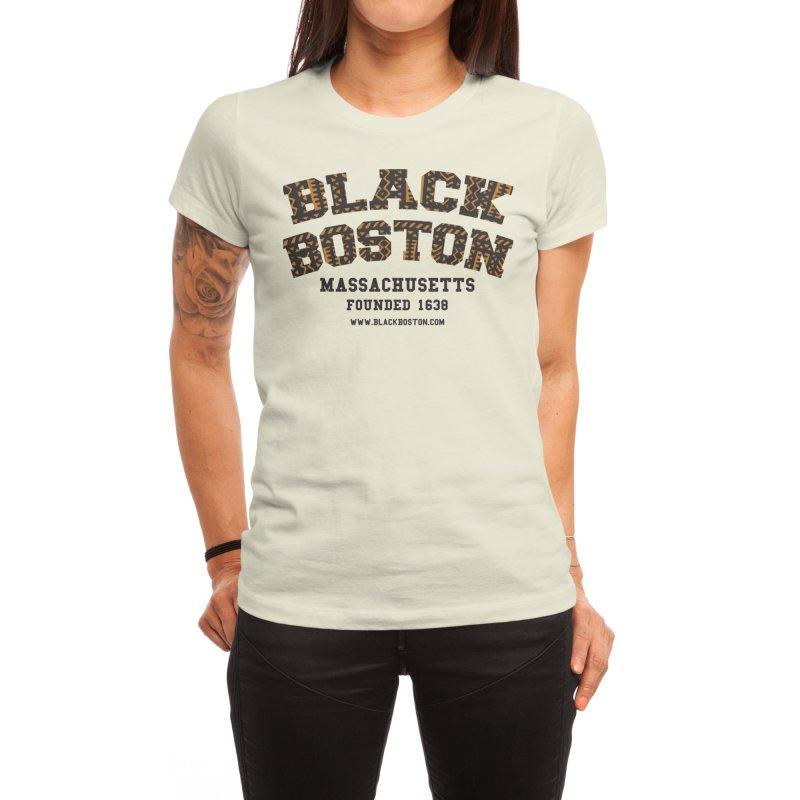 The Black Boston Classic foundational shirt catalog. Women's T-Shirt by Shop.BlackBoston.com