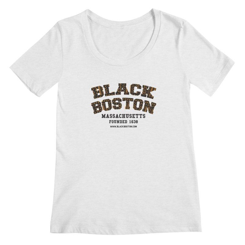 The Black Boston Classic foundational shirt catalog. Women's Scoopneck by Shop.BlackBoston.com