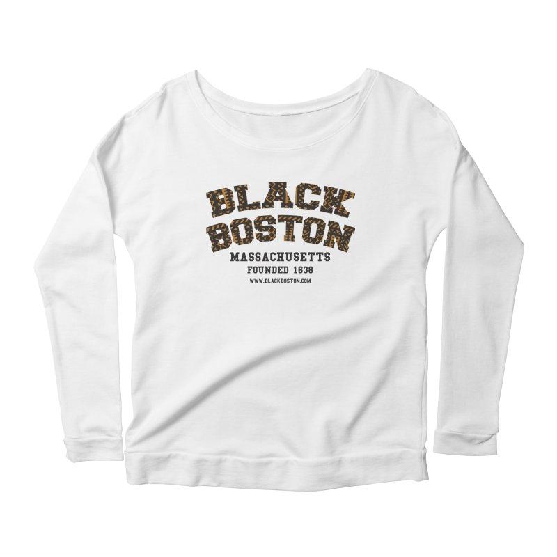The Black Boston Classic foundational shirt catalog. Women's Scoop Neck Longsleeve T-Shirt by Shop.BlackBoston.com