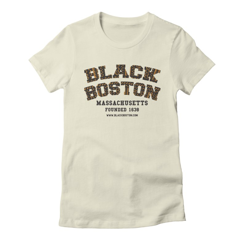 The Black Boston Classic foundational shirt catalog. Women's T-Shirt by Shop.BlackBoston.com