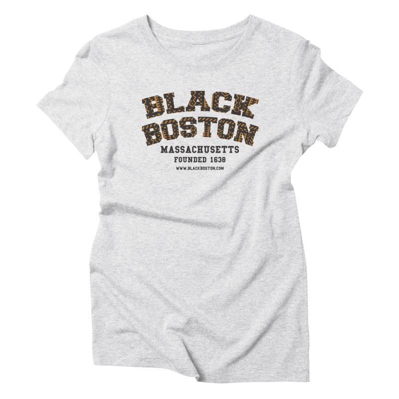 The Black Boston Classic foundational shirt catalog. Women's Triblend T-Shirt by Shop.BlackBoston.com