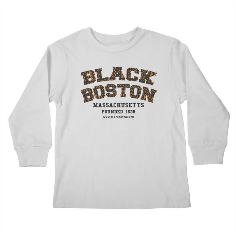 The Black Boston Classic foundational shirt catalog. Kids Longsleeve T-Shirt by Shop.BlackBoston.com