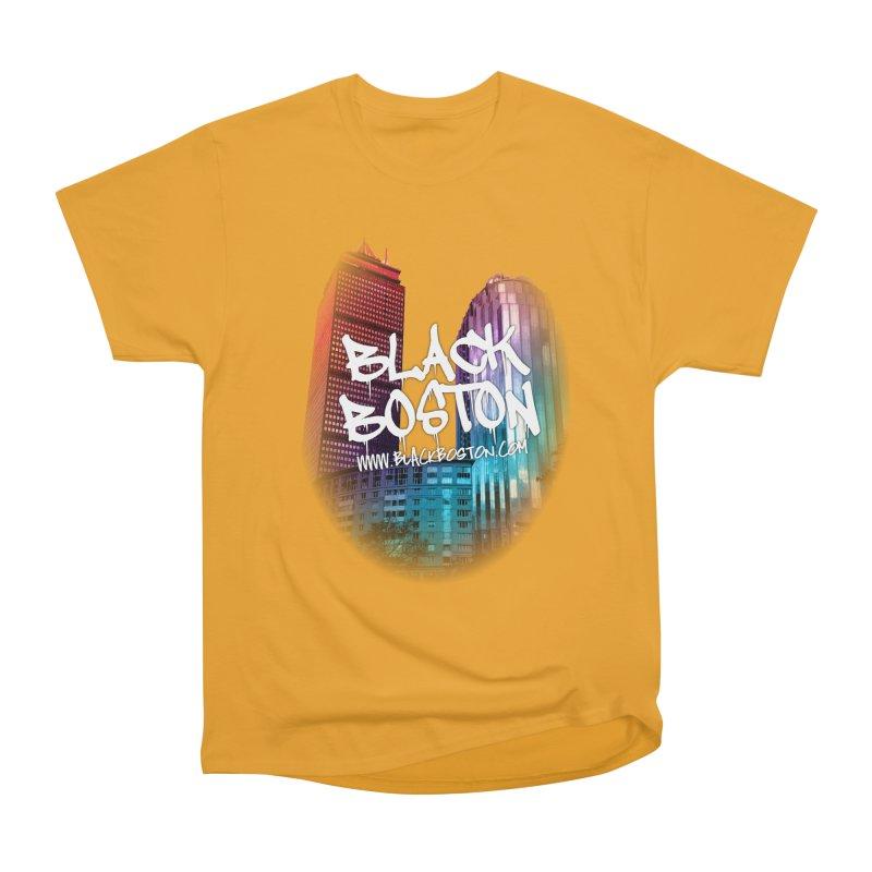 Black Boston souvenir I You style Women's T-Shirt by Boston Black Heritage Classic  souvenir t-shirts a