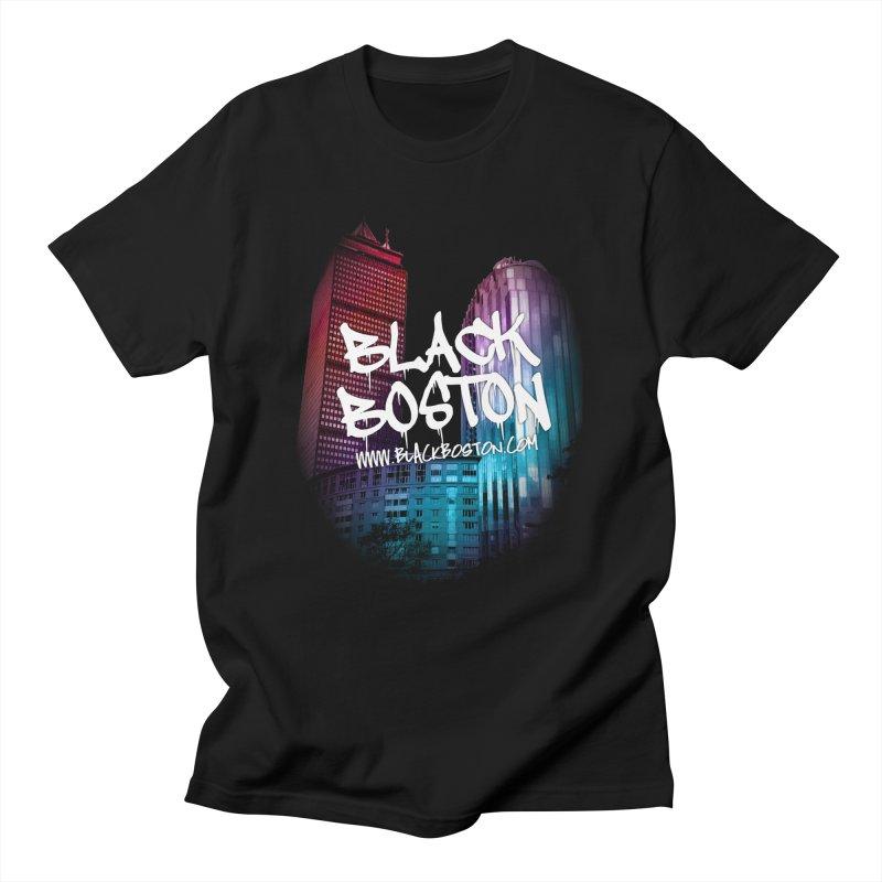 Black Boston souvenir I You style Men's T-Shirt by Boston Black Heritage Classic  souvenir t-shirts a