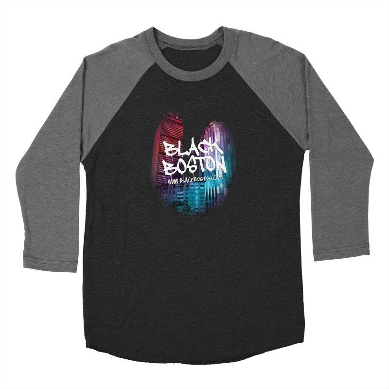 Black Boston Classic U Purple Women's Longsleeve T-Shirt by Shop.BlackBoston.com