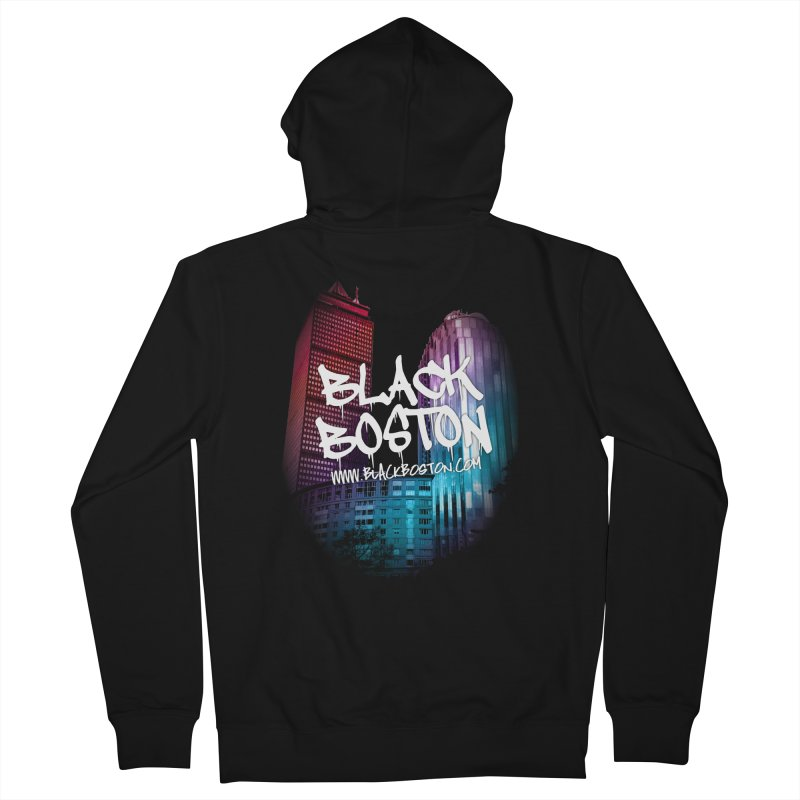 Black Boston Classic U Purple Women's French Terry Zip-Up Hoody by Shop.BlackBoston.com