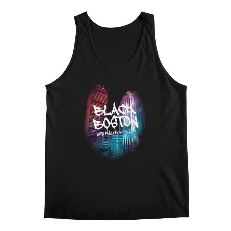 Black Boston Classic U Purple Men's Regular Tank by Shop.BlackBoston.com